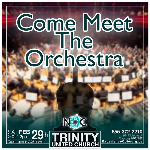 Come Meet the Orchestra!